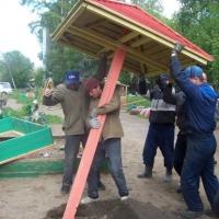 День защиты детей в Омске отметят новыми песочницами
