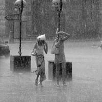 Дождь стал главной темой пятницы в омском твиттере