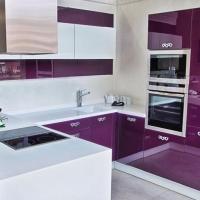 Кухни из пластика в стиле Модерн