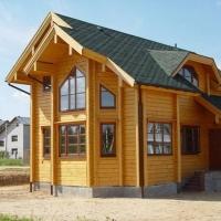 Особенности возведения домов из профилированного бруса