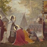 В Омск привезли чудотворные мощи преподобного Сергия Радонежского