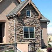 Варианты применения фасадного облицовочного камня