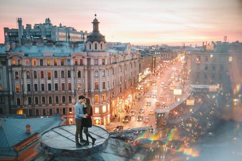 Незабываемый опыт — экскурсии по крышам Санкт-Петербурга