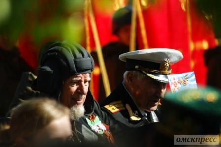 Омичи празднуют день Победы