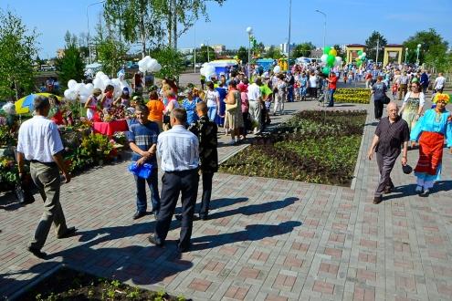 """Сад """"Сибирь"""" открылся после реконструкции"""