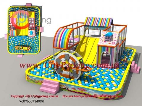 Детский игровой лабиринт купить в интернет магазине cityparking.ua