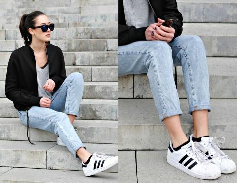 Кроссовки и джинсы: как сочетать?