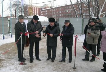 Коллектор в Чкаловском поселке Омска достроят в этом году