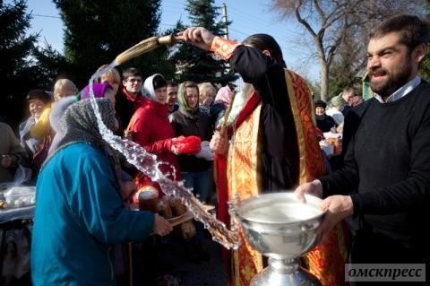 Омичи празднуют Пасху