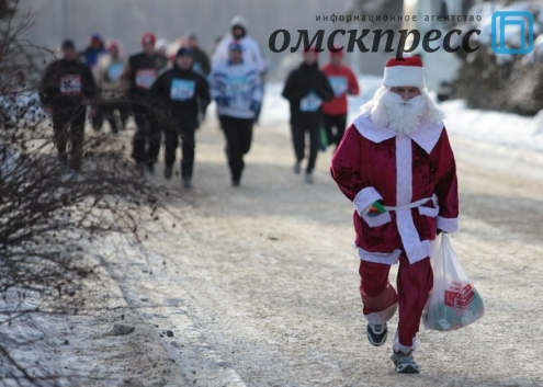 Омичи отличились на Рождественском полумарафоне