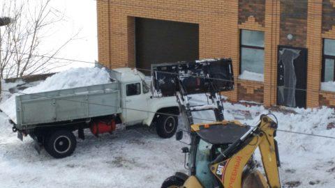Омичи из частного сектора могут получить талоны на бесплатный вывоз снега