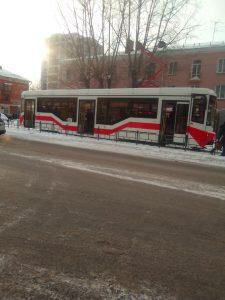 Омичи делятся впечатлениями от нового трамвая