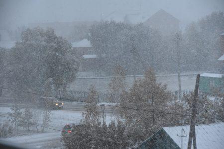 Снег в Омской области будет идти и таять