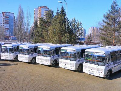 Омскоблавтотранс пополнился десятью новыми автобусами