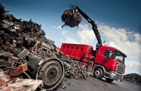 Сдача и вывоз металлолома