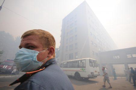 В некоторых районах Омска вновь нечем дышать 30.04