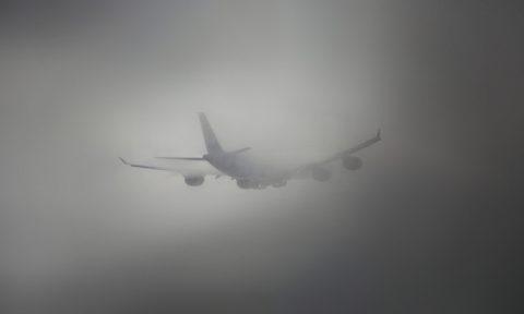 Два рейса из Москвы не смогли приземлиться в Омске из-за тумана