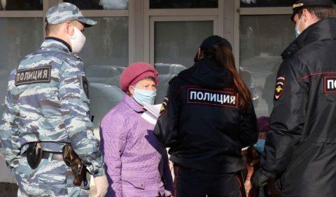 В Омске оштрафовали 30 человек за нарушение карантина
