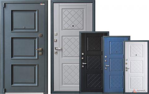 Основные разновидности входных дверей