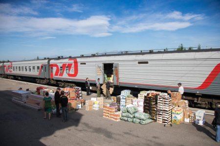 В Омскую область завезли 7000 тонн продовольственных товаров.