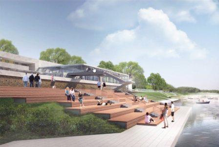 """На """"Зелёном острове"""" появятся новая набережная, амфитеатр и подвесной мост"""