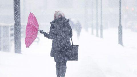 В Омской области ожидается снег с дождём и сильным ветром