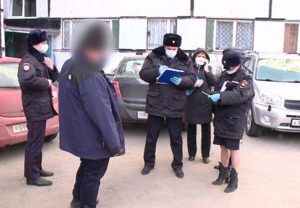 Жители Омска жалуются в полицию на нарушителей режима самоизоляции