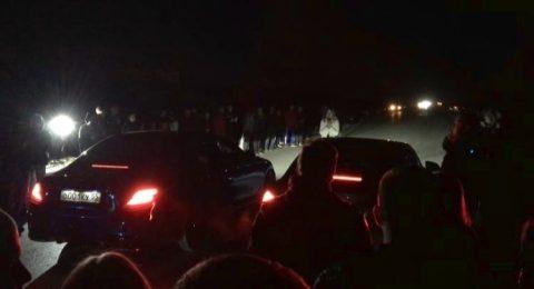 Водитель врезался в группу людей во время незаконных автогонок в Омске
