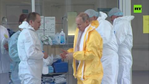Ситуация с короновирусом в России усложняется - Владимир Путин