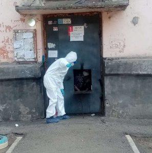 Три подъезда в Омске закрыты на карантин из-за коронавируса