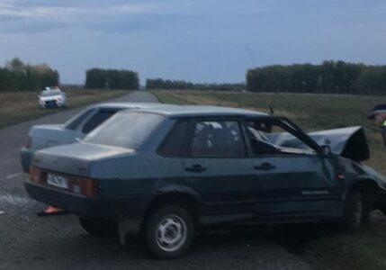 На трассе под Омском в ДТП пострадал подросток и двое взрослых