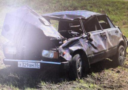 В Нижнеомском районе произошло ДТП с участием нетрезвого водителя