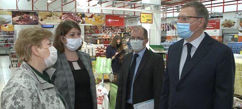 Бурков заявил, что омичам еще очень долго придется ходить в масках