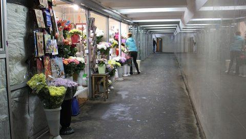 За торговлю цветами в подземном переходе наказали жительницу Омска