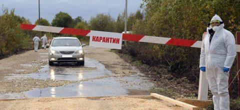 В Омской области целую деревню закрыли на карантин из-за коронавируса