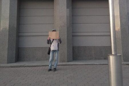 Одиночный пикет за возврат льготного проезда состоялся в Омске