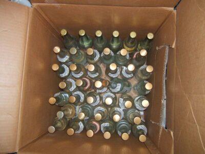 В Омске изъяли 32 тысячи бутылок контрафактного алкоголя на 6 млн рублей