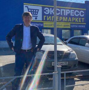 В Омске открыли «магазин без названия»