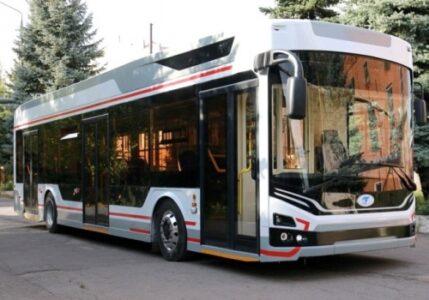 Первый троллейбус «Адмирал» появился в Омске