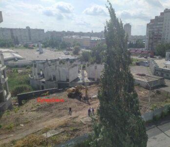 В Омске оживает стройка заброшенной гостиницы «Авангарда»