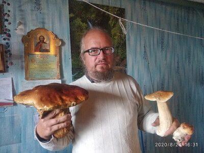 В Омской области нашли гриб весом почти в килограмм