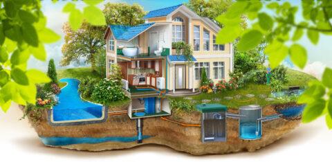 Основные элементы системы водоснабжения и водоотведения