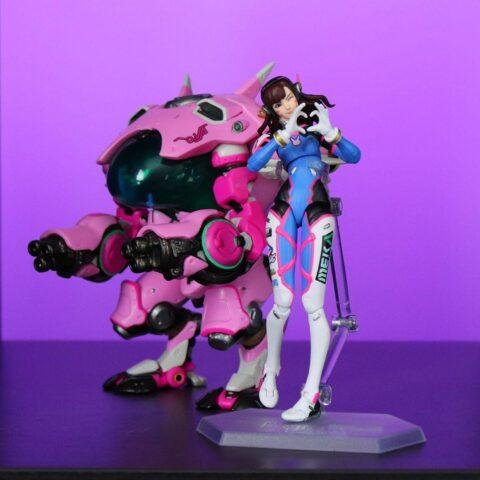 Фигурки персонажей из игр