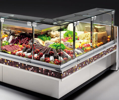 Холодильная витрина для магазина