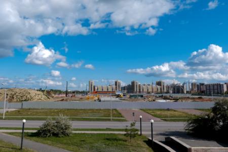 2300 свай забили под «Арену Омск»