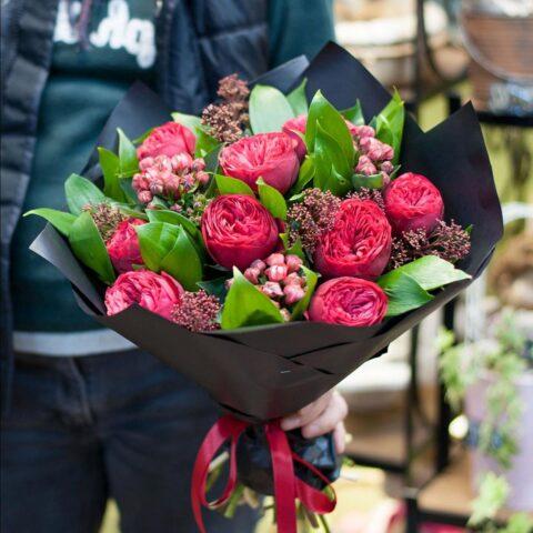 Доставка цветов — удобный сервис