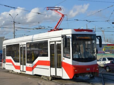 Новые низкопольные трамваи появятся в Омске