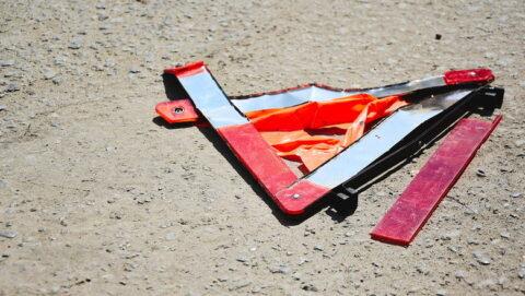 Мотоблок отлетел с проезжей части в ребенка на тротуаре