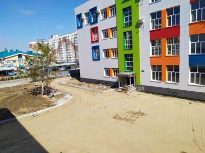 В микрорайоне «Амурский-2» в Омске почти готова школа