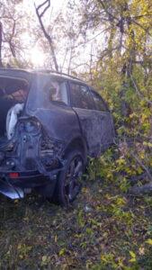 В аварии под Омском погибли люди